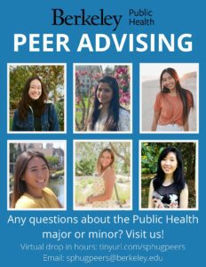 Berkeley Peer Advising Flyer - Links to informational document